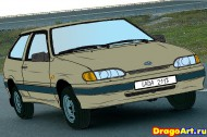 hay_to_draw_the_vaz_2114_