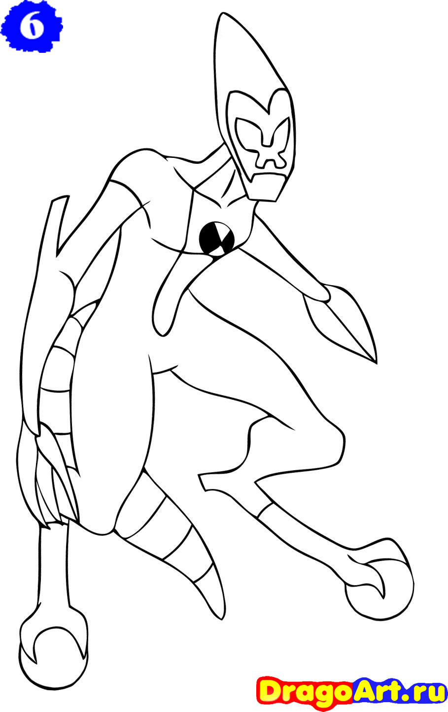 Ben 10 for How to make doodle
