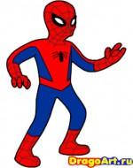 симпсоны, человек паук, комиксы