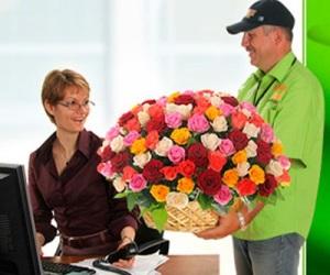 Популярность доставки цветов