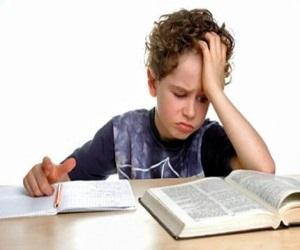 Ребенок не может сделать дома уроки
