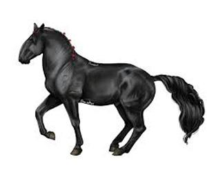 Азы поэтапного рисования лошади