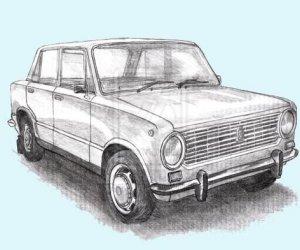 Как нарисовать красивый автомобиль